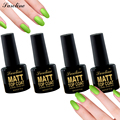 Saroline Matte Top Coat UV Tips Dull Finish TopCoat Gel For Nail Art With High Quality Soak Off Gel Polish Nail 8ML