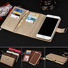 10PCS Sumgo Leather Cases For iPhone 7 Fundas case For iPhone 8 Plus Case Cover Flip
