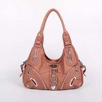 Casual PU Women Leather Messenger Hobo Design Bags Crossbody Messenger Shoulder Sling Bags for Ladies