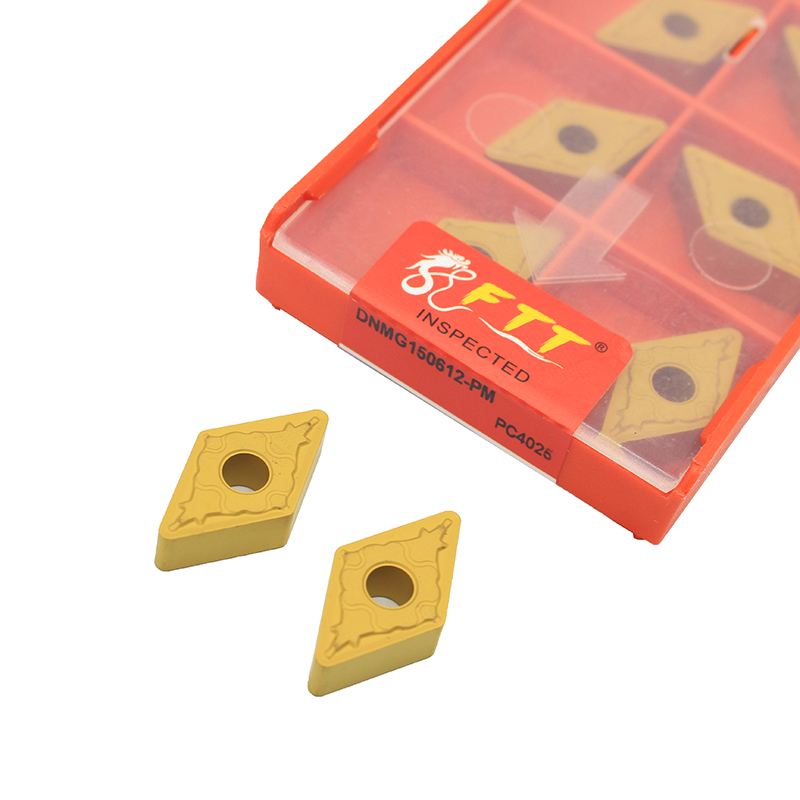DNMG150612 PM PC4025 External Turning Tools Carbide insert Lathe cutter Tool turning insert For processing steel partsDNMG150612 PM PC4025 External Turning Tools Carbide insert Lathe cutter Tool turning insert For processing steel parts