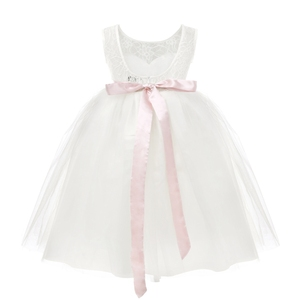 Image 5 - 2020 biała pierwsza komunia kwiat dziewczyny sukienki dziewczynki prawdziwe Party Dress na wesele dzieci wieczór Party suknie pirotechniczne