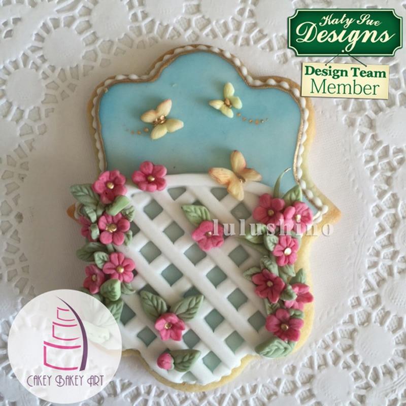 Cake Decoration J D O O : Yueyue Sugarcraft Mesh silicone cake mold fondant mold ...