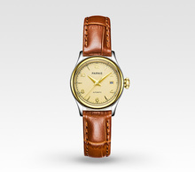 Mechanical Women's Watches 27mm Parnis Casual Automatic Ladies Watch Sapphire Crystal 100% Cowhide Leather Mechanical Wristwatch
