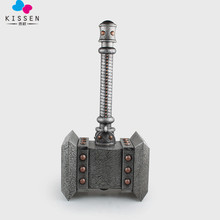 Kissen EMS Shipping The Doomhammer Thrall Cosplay Hammer Weapon 1:1 Scale PVC Collection Model Toy Gift