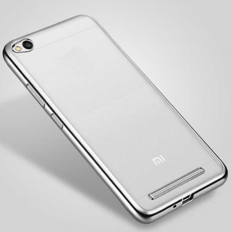 """Coque לxiaomi redmi 4A מקרה פגוש סיליקון רוז זהב ציפוי מקרה ברור רך TPU כיסוי עבור Xiaomi redmi Xiomi 4A 5.0 """"כיסוי"""