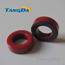 Tangda Iron powder cores T157-2 OD*ID*HT 40*27*15 mm 14nH/N2 10uo Iron dust core Ferrite Toroid Core Coating Red gray