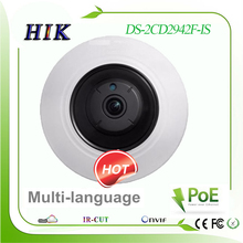 Hikvision   4MP multi-language 360 degree fisheye IP Network Camera DS-2CD2942F-IS  POE / Audio / Alarm