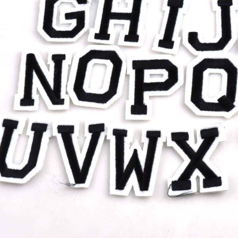 26pcs Patch DIY A Z Letter/Alphabet Patches For Kids Clothes Sew on Embroidered  Patch Motif Applique CP0922-in Patches from Home & Garden on Aliexpress.com  ...