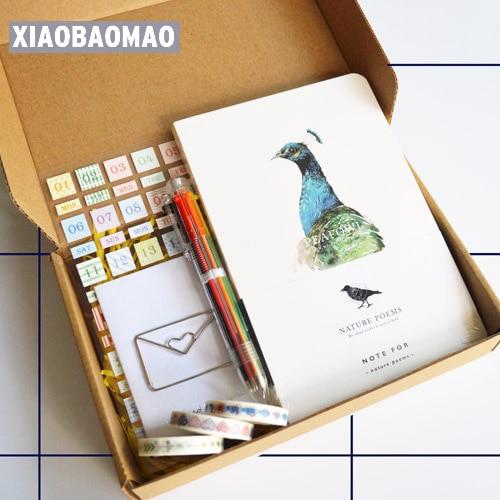 """""""आपको सर्वश्रेष्ठ दें"""" पेन स्टिकर के साथ खाली स्केचबुक डायरी प्लानर एजेंडा शेड्यूलर लक्जरी नोटबुक उपहार पैकेज उपहार बॉक्स"""