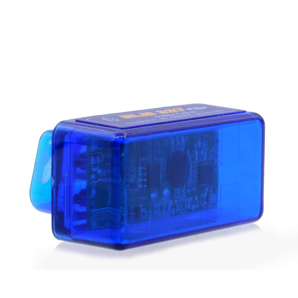 2019 Scanner  OBDII 2 Mini Elm327 V2.1 Bluetooth OBD2 Elm 327 bt V2.1 OBD2 Car Diagnostic Tool Elm327 OBDII Adapter Auto Tool