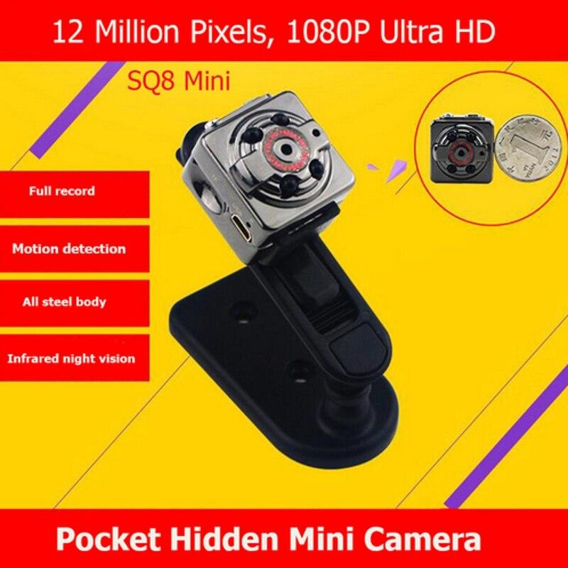 SQ8 Mini DV տեսախցիկ 1080P Full HD Car Sports IR Night Vision - Ավտոմեքենաների էլեկտրոնիկա - Լուսանկար 6