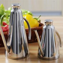Нержавеющая сталь масло горшок может уксус бутылка контейнер кухонная утварь для хранения