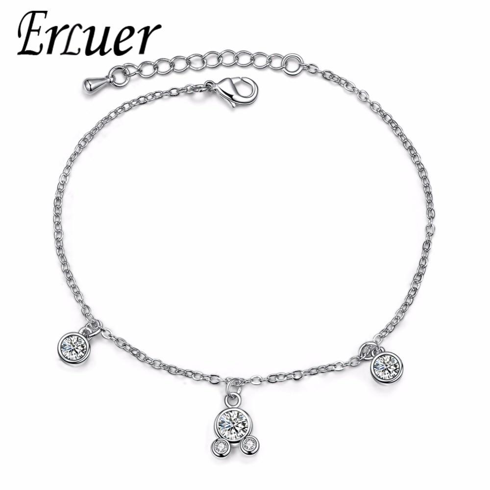 Nouveau Designer Inspired Silver Mesh Noir Onyx Zircone cubique Pave Cristaux Boucle Bracelet