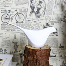 Nordic Style Resin White Black Bird Figurine 3PCS/SET Creative Artificial simple furnishing articles room Decoration Crafts