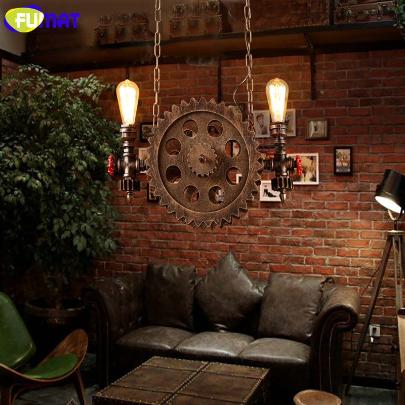 Gear Pendant Light 15