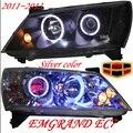 Geely Emgrand EC7 farol, 2011 ~ 2013, Apto para LHD, Livre o navio! Emgrand EC7 nevoeiro luz, 2 ps/set + 2 pcs Lastro Aozoom; EC8, Emgrand EC7