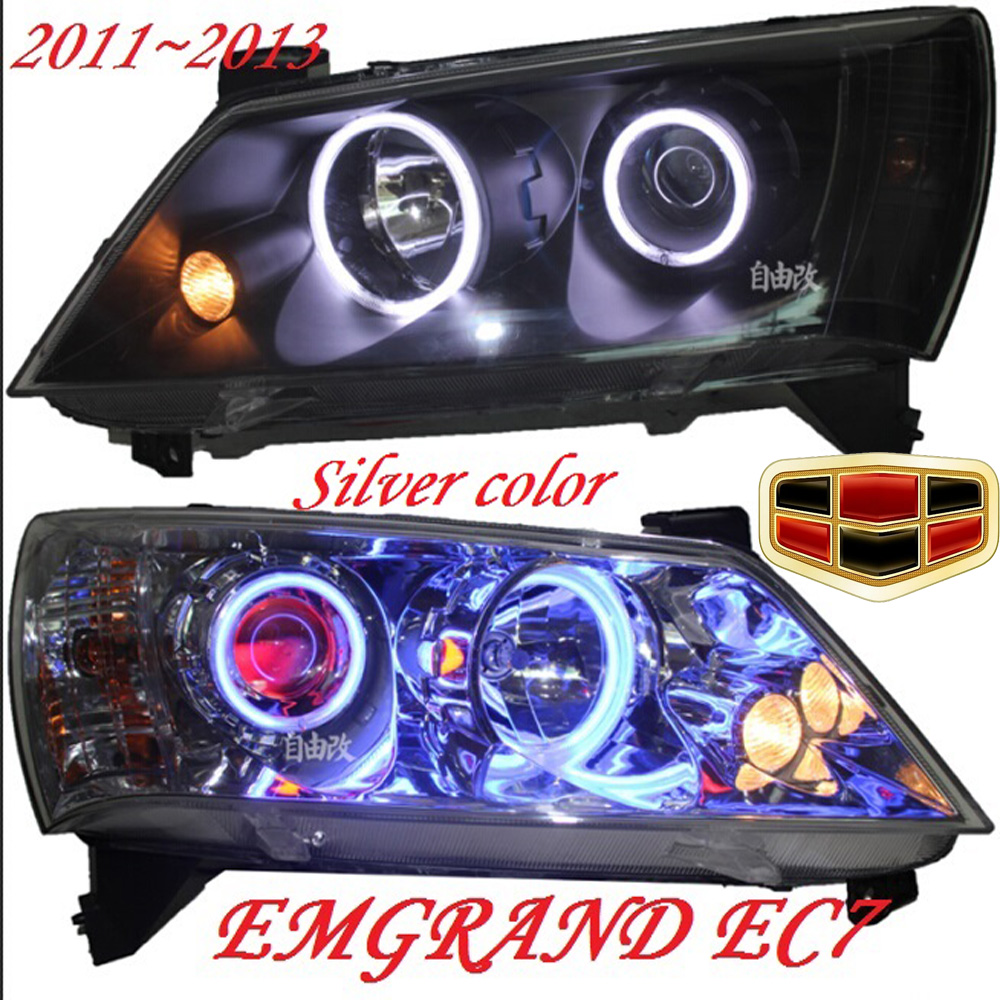 Geely Emgrand EC7 headlight,2011~2013,Fit for LHD,Free ship!Emgrand EC7 fog light,2ps/set+2pcs Aozoom Ballast;EC8,Emgrand EC7 geely emgrand 7 ec7 ec715 ec718 emgrand7 e7 car door sealing strip