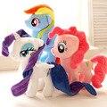 Regalo para el bebé 1 unid 30 cm arco iris de dibujos animados lucky fly caballo unicornio bordado espera de felpa muñeca de los niños de la novedad niños de peluche de juguete