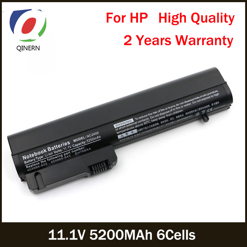 все цены на 11.1V 5200MAh 6Cells Laptop Battery For HP 2533t EliteBook 2530p 2540p For COMPAQ 2400 2510p nc2400 Business notebook Batteries