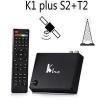 KI Artı T2 S2 Akıllı Android 5.1 TV Kutusu Amlogic S905 Quad Core 64-Bit 1/8 GB Destek DVB-T2 DVB-S2 Wifi K1 Artı TV Kutusu Set Top Box