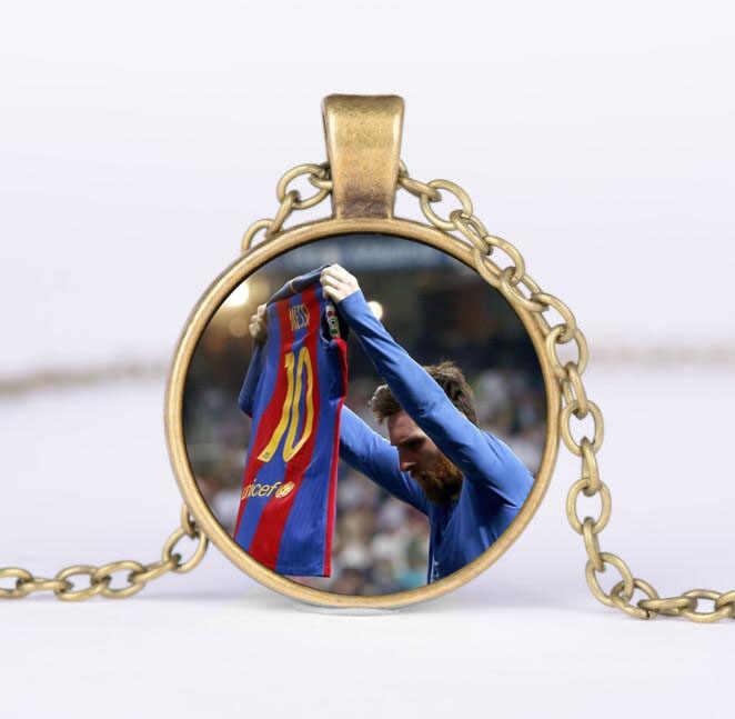 QiYuFang Lionel Messi модель игрушка Вит Combe брелок Аргентина новое ожерелье милый футбол ювелирные изделия вентиляторы мужские женские детские брелки