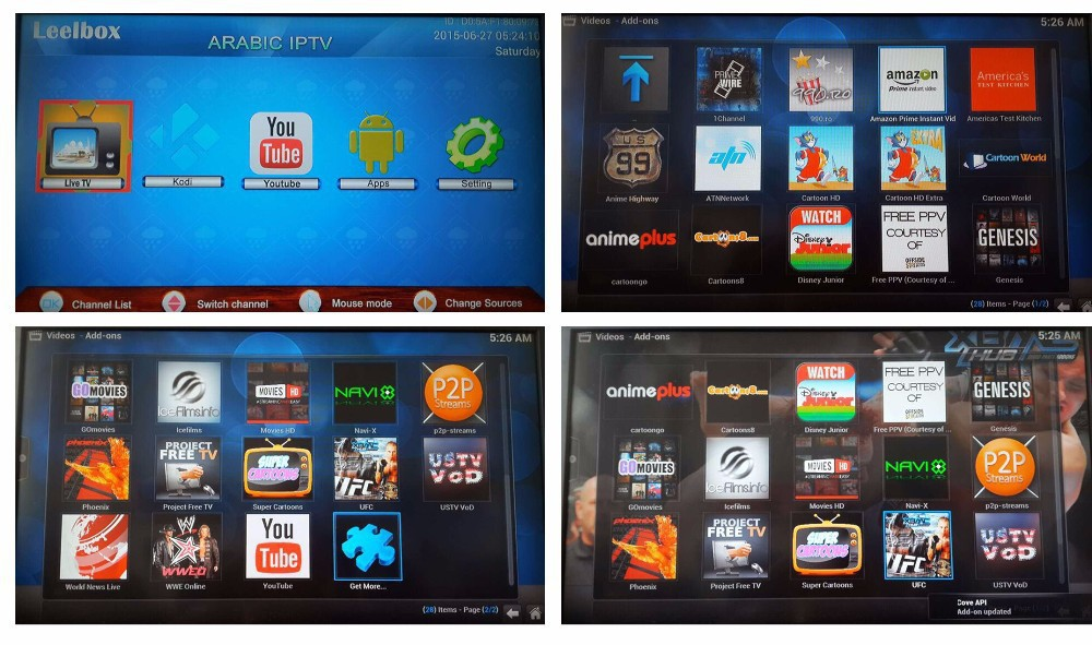 Arabic IPTV box,Leelbox A6,Android tv box,Free forever
