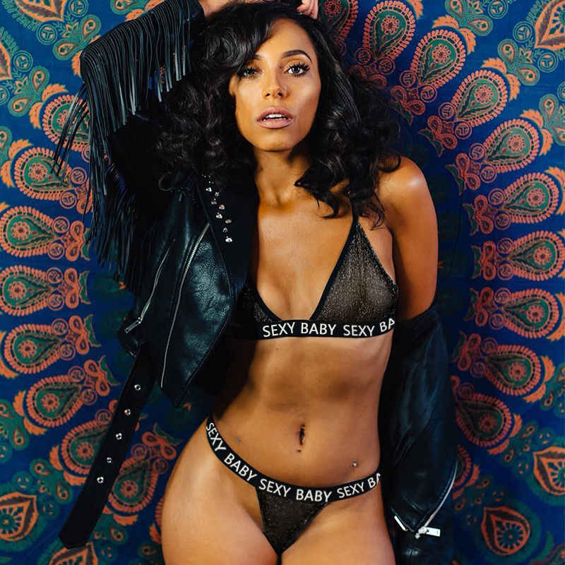 ... New Women bikini transparente Lace Sexy Lingerie Nightwear Underwear  G-string Sleepwear Bra Set erotic ... e207a6e52593