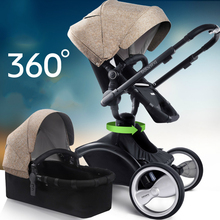 Luxury baby high landscapes two-way baby strollers to sit reclining suspension of the European carts folded baby stroller & Popular Reclining Baby Stroller-Buy Cheap Reclining Baby Stroller ... islam-shia.org