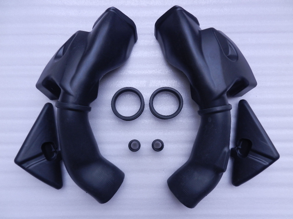 Motorcycle Ram Air Intake Tube Duct Pipe For Honda CBR600RR CBR 600 RR 2003-2004 F5 High quality ABS Plastic Motorbike abs plastic motorcycle black ram air intake tube duct for honda cbr600rr f5 2007 2011 2009 2010