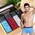 4 do sexo masculino calcinha tronco masculino de algodão puro suor de verão absorvendo respirável meados cintura sexy u cintos