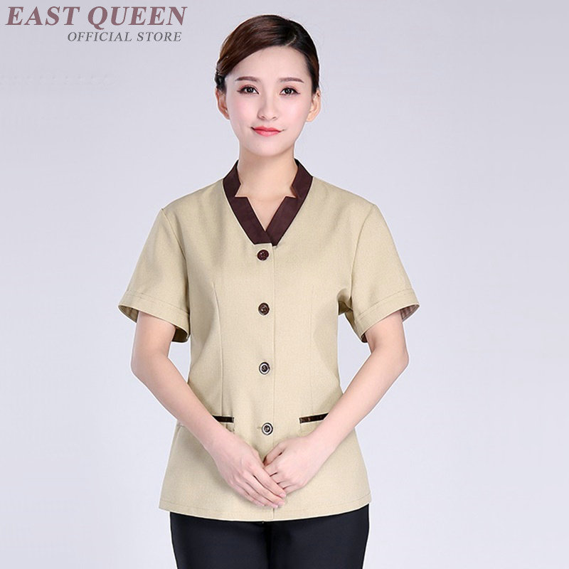 Housekeeping Uniforms Hotel Supplies Maid Hotel Cleaner Uniform Workwear Cleaning Service Uniform Waitress Clothing DD1126