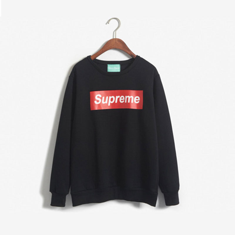 2015 New Women Fashion Sport Hoodies Spring Autumn Winter Letter Supreme  Print Paris Sweatshirt Thick Pullover Size S L Hot Sale-in Hoodies    Sweatshirts ... e2ec405f8b