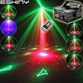 Eshini дистанционный Мини R & G лазерный проектор с 12 рождественскими узорами синий светодиодный бар DJ танцевальная Дискотека семейная Вечерин...