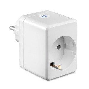 "Image 5 - USB חכם תקע בריטניה/האיחוד האירופי/ארה""ב Wifi חכם שקע שלט רחוק עם Usb יציאת עובד עם Alexa Google בית מיני IFTTT אין רכזת הנדרש"