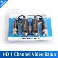 High Definition 720 P/1080 P AHD/HDCVI/HDTVI BNC для UTP Cat5/5e/6 видео Балун Пассивные Приемопередатчики Адаптер Передатчик 300 м