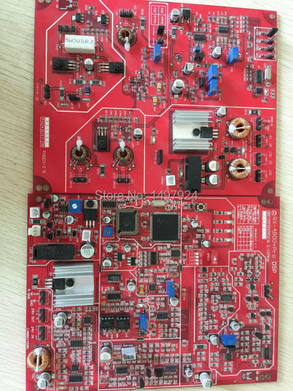 2018 hot selling High sensitivity EAS RF 8.2MHZ dual electronic board with DSP technology  RX+TX for eas antenna or eas system