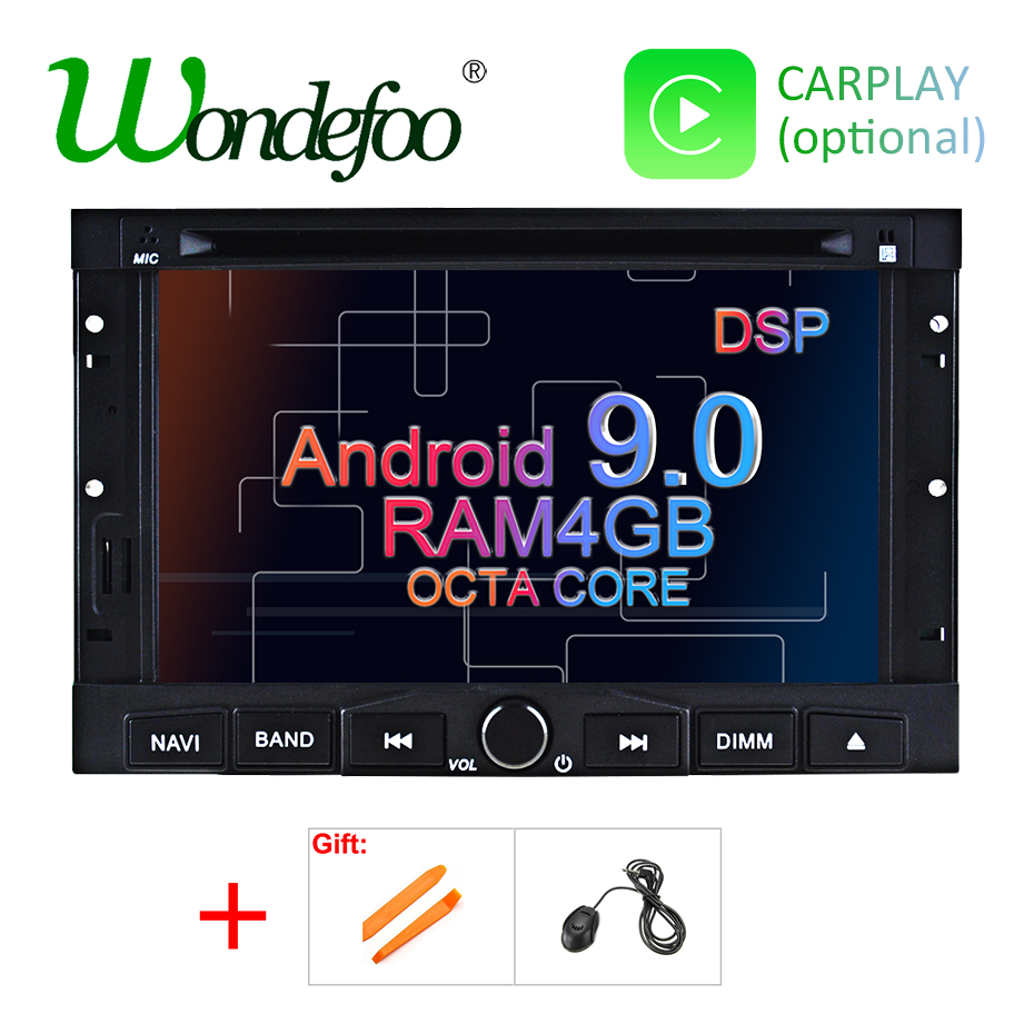 Android 9 0 DSP DVD Player for PEUGEOT 3008 5008 Partner Citroen Berlingo Car GPS Multimedia