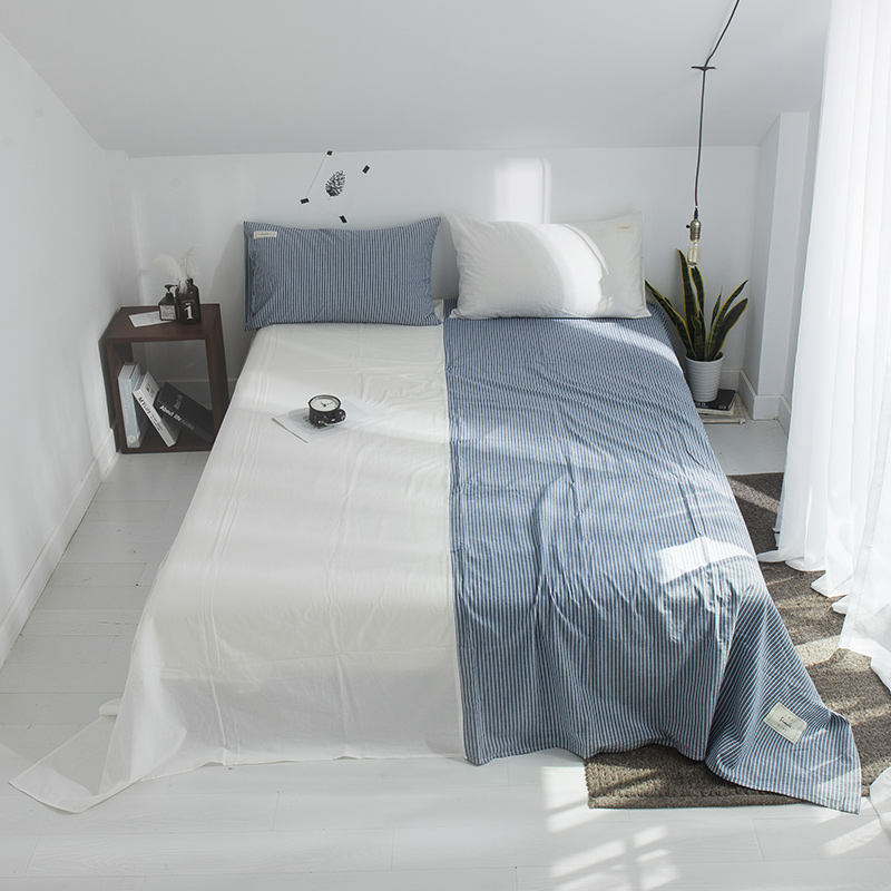 Bedding Sheet Home Textile Printing Solid Color Flat Sheets Combed Cotton Bed Sheet Bedding Linen For King Queen Size Bedding Sheet Home Textile Printing Solid Color Flat Sheets Combed Cotton Bed Sheet Bedding Linen For King Queen Size