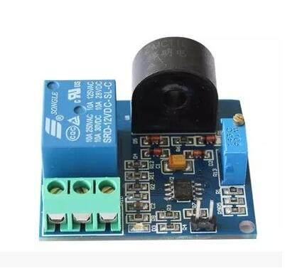 5a overcurrent protection sensor module ac current sensor 12v relay