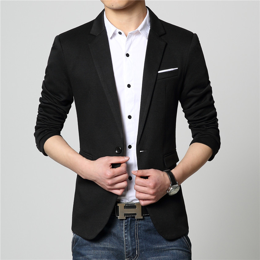 Business Casual Men Blazer