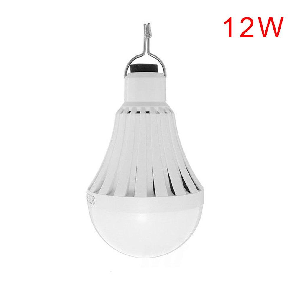 12/20/30 Вт 20-50LED USB перезаряжаемая лампочка для фонарик Бизнес для потолочных вентиляторов палатка мигалки лампы для проектора Мощность свет - Испускаемый цвет: 20W  30LED