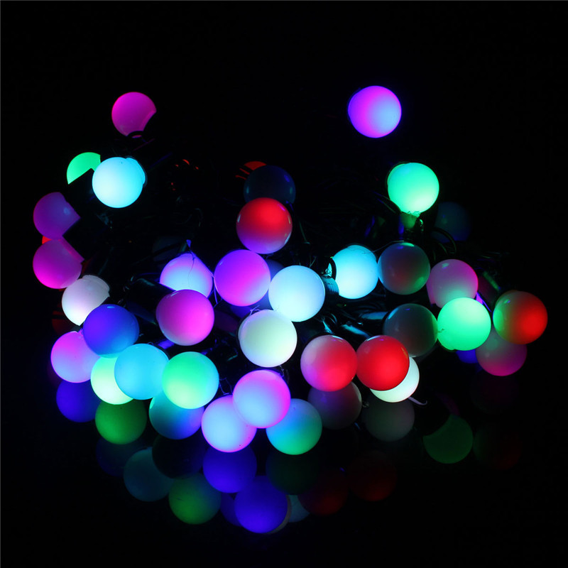 220V 5M 50 LED Fairy Ball String Light Decoration Christmas Party Wedding