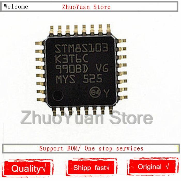 1PCS/lot New Original STM8S103K3T6C STM8S103 LQFP-32 IC Chip