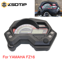 ZSDTRP Motorcycle Speedometer Digital Universal Electronics Indicator LCD Display Accessories For Yamaha FZ16 FZ 16 Motor