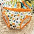 Freeship 6 pçs/lote meninos calções calcinhas double crotch crianças underwear bebês de algodão puro roupas para todas as estações venda quente