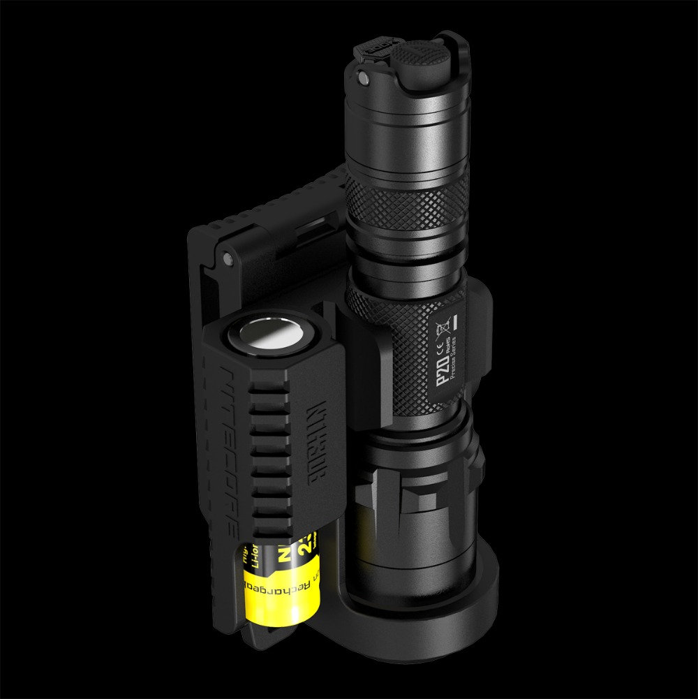 NITECORE P20/P20UV+NTH30B Holder Tactical LED Flashlight 800 Lm Waterproof Outdoor Camping Hunting Without Battery Free Shipping nitecore mh2a 600 lumens u2 led rechargeable flashlight military outdoor tactical torch without battery free shipping