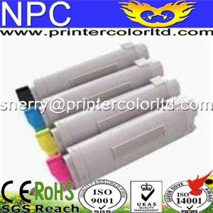 4 piece Compatible C831 Series toner cartridges For OKI C831