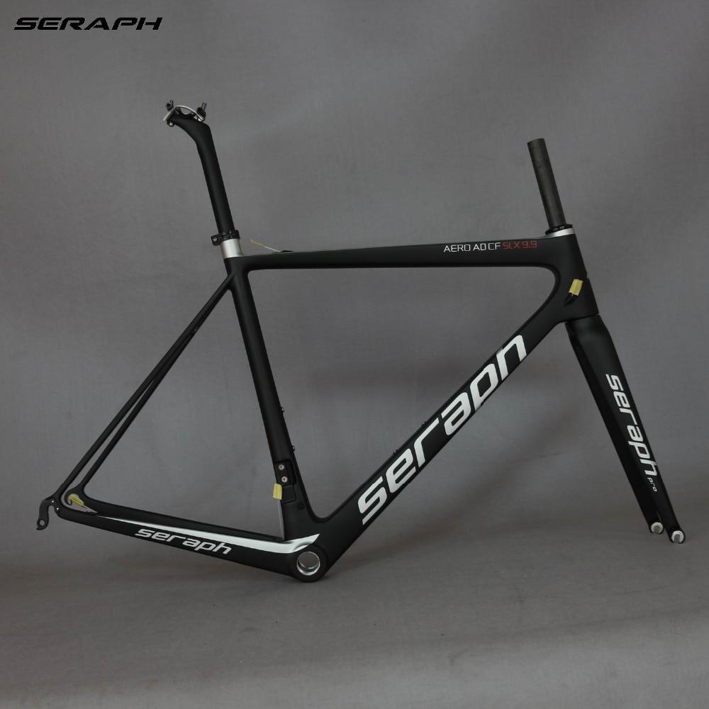 SERAPH Bike Carbon Road Frame Carbon Fiber Bicycle  Frame,T1000 Bicycle Carbon Frame FM686