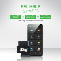 Launch X431 EasyDiag 3.0 Diagnostic Tool Android OBD2 Scanner Faslink M2 Smart EOBD/OBDII Code Reader for IOS