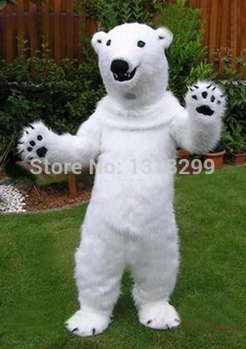 mascot Polar Bear mascot costume fancy dress custom fancy costume cosplay theme mascotte carnival costume kits